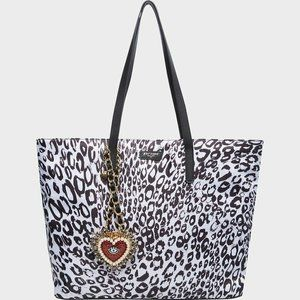 Betsey Johnson Betsified Large Tote Necklace Charm